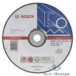 Bosch 2608600316 ОТРЕЗНОЙ КРУГ МЕТАЛЛ 180Х3 ММ ВОГН