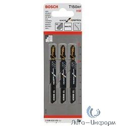 Bosch 2608633105 3 ЛОБЗИКОВЫЕ ПИЛКИ T 150 RIFF, HM