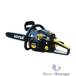 Huter BS-45M [70/6/4] Бензопила { 1,7 кВт, 45 см3, бак 0,55 л, антивиб.сис., шина 40см/16 }