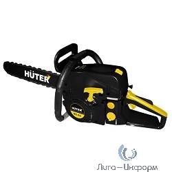 """Huter BS-52 [70/6/3] Бензопила { 2,2 кВт, 52 см3, бак 0,55 л, антивиб. система, шина 50см/20"""", 7,5кг }"""