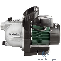 Metabo P2000G [600962000] садовый насос { 450Вт, 2000 л/ч, чугун, вес 7,6 кг }