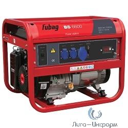 FUBAG BS 6600 [838797] { 6.6 / 6.0 кВА, 26 А, 25 Объем бака, л, 220 В, 87 Вес, кг }