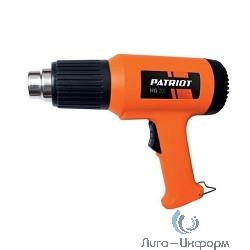 PATRIOT HG201 The One Фен технический [170301311] { 2000Вт, цветная коробка, стационарное положение }