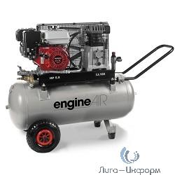 ABAC EngineAIR A39B/100 5HP Компрессор [4116002088] {Реси- вер 100 л. Произ- водит. 330 л/мин. Давле-ние 10 бар Мощн. 3,6/бензин кВт Напря-жение -В Вес 70 кг.}
