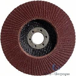 Bosch 2608603653 Лепестковый круг Standard or Metal, угловое исполнение, прокладка из стекловолокна, O115 K60