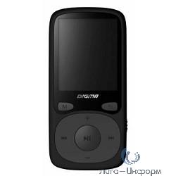 """363320 Плеер Flash Digma B3 8Gb черный/1.8""""/FM/microSD"""
