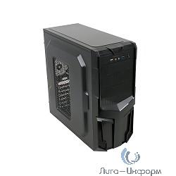 3Cott 3001B ATX Black 500Вт, USB, Audio, Black