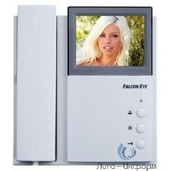 Falcon Eye FE-4CHP2 {Цветной монитор домофона 4-провод., на 2 вызывные панели, доп. трубка, интерком}