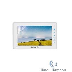 Falcon Eye FE-70C4  цветной 7 дюймов, сенсорные кнопки, подключение 4 выз панели, и 3 доп. монитора