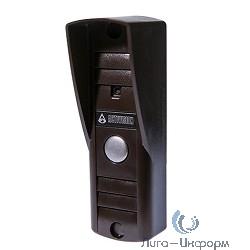 """Falcon Eye Activision AVP-505 (PAL) накладная Коричневая 4-х проводная; накладная видеопанель; с ИК подветкой до 0,6м,матрица 1/3"""", 400 ТВл,0,5лк, 12В, угол обзора 75 (гор.) 55 (верт.)"""