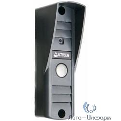 """Falcon Eye Activision AVP-505 (PAL) накладная Темно-серая  4-х проводная; накладная видеопанель; с ИК подветкой до 0,6м,матрица 1/3"""", 400 ТВл,0,5лк, 12В, угол обзора 75 (гор.) 55 (верт.)"""