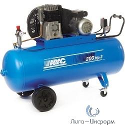 ABAC B4900/200 CT4 Компрессор [49LC601_R (4116019570)] {Реси- вер 200 л. Произ- водит. 514 л/мин. Давле-ние 11 бар Мощн. 3 кВт Напря-жение 380В Вес 147 кг.}