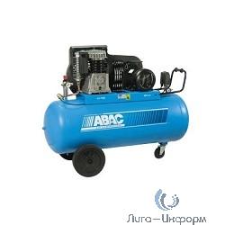 ABAC B5900B/100 CT5,5 Компрессор [53FC701 (4116019676)] {Реси- вер 100 л. Произ- водит. 653 л/мин. Давле-ние 11 бар Мощн. 4 кВт Напря-жение 380В Вес 75 кг.}