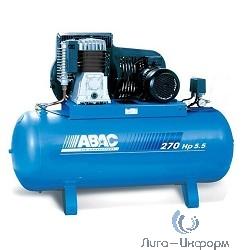 ABAC B5900B/270 CT5,5 Компрессор [53XV701KQA077 (old 53NC701) (4116019933)] {Реси- вер 270 л. Произ- водит. 653 л/мин. Давле-ние 11 бар Мощн. 4 кВт Напря-жение 380В Вес 180 кг.}