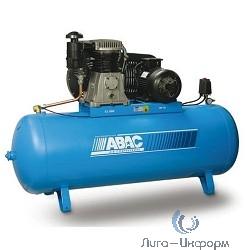 ABAC B7000/500 FT 10 15 бар Компрессор [70TN968 (4116020860)] {Реси- вер 500 л. Произ- водит. 930 л/мин. Давле-ние 15 бар Мощн. 7.5 кВт Напря-жение 380В Вес 305 кг.}