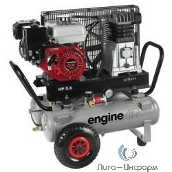 ABAC EngineAIR A39B/11+11 5HP Компрессор [4116002090] {Реси- вер 11+11 л. Произ- водит. 330 л/мин. Давле-ние 10 бар Мощн. 3,6/бензин кВт Напря-жение -В Вес 94 кг.}