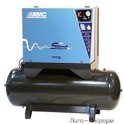 ABAC B6000/LN/500/FT7,5 Компрессор [4116007005] {Реси- вер 500 л. Произ- водит. 827 л/мин. Давле-ние 11 бар Мощн.,  кВт / Напряжение, В 5,5/380 Уровень шума 69dB(A) Вес 404 кг.}