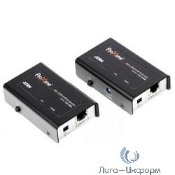 ATEN CE100-A7-G / CE100-C / CE100, SVGA+KBD+MOUSE USB, 100 метр., HD-DB15+USB A-тип/USB B-тип, Female, c KVM-шнуром USB, Б.П. 220> 5V, (макс.разрешение 1920х1200 60Hz (30m);)DDC2B/DDC2B3)