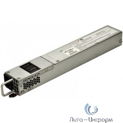 PWS-703P-1R SUPERMICRO 1U, 700W, Redundant PWS Module, 50mm w/ PMBUS Gold Efficiency, Retail
