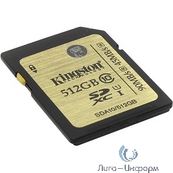 SecureDigital 512Gb Kingston SDA10/512GB {SDXC Class 10}