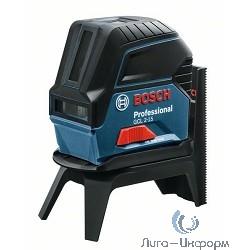 Bosch GCL 2-15+RM1 Комбинированный лазер [0601066E00] { 630-650 нм, 15 м, 0.49 кг }