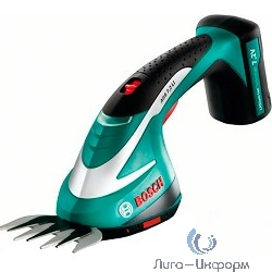 Bosch AGS 7,2 LI [0600856000] Ножницы для травы { 7.2 В, 1.3 Ач, нож 8 см, 0.75 кг }