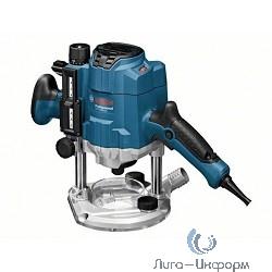 Bosch GOF 1250 LCE Фрезер ламельный [0601626101] { 1250 Вт, 24000 об/мин, 3.6 кг, L-boxx, ЖК дисплей }