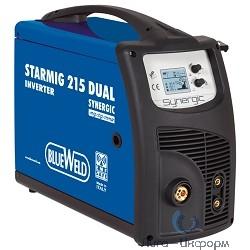BLUE WELD STARMIG  215 Инверторный полуавтомат [816400] {230V, 220A Диам. Электрода 0,6-1/0,8-1,2мм}