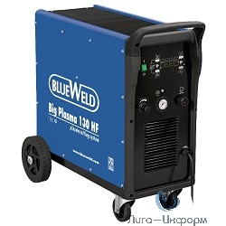 BLUE WELD Big Plasma 130 HF Плазморез [830317] {380 V, 120 A, max толщ.реза 30 мм. }