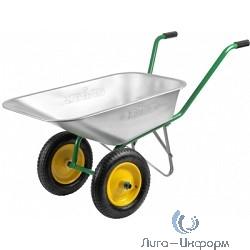 GRINDA Тачка садовая двухколесная, 80 л, грузоподъемность 120 кг [422400_z01]