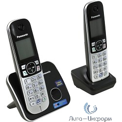 1422025 Panasonic KX-TG6812RUB {Caller ID, АОН, спикерфон, регулятор громкости}