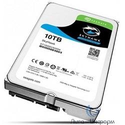 10TB Seagate SkyHawk (ST10000VX0004) {SATA 6 Гбит/с, 7200 rpm, 256 mb buffer, для видеонаблюдения}