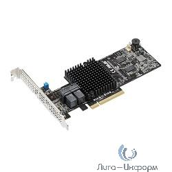 ASUS Контроллер PIKE II 3108-8I/240PD/2G, 8-port SAS-3, 12 Gbit/s, RAID 0, 1, 10, 5, 6, 50, 60 (LSI SA3108), Cache 2 GB, Max. 240 Devices