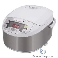 Мультиварка Philips HD3136/03, 980 Вт, 4 л, 14 программ, металлик/ белый