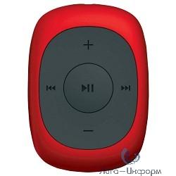 367230 Плеер Flash Digma C2L 4Gb красный/FM/clip