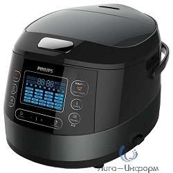 Мультиварка Philips HD4749/03, черный, 5л., 980Вт