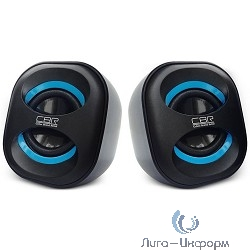 CBR CMS 333 Black-Blue, 3.0 W*2, USB