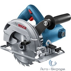 Bosch GKS 600 Пила дисковая [06016A9020/920] { 1200 Вт, 5200 об/мин, 165х20мм мм, 3.6 кг }