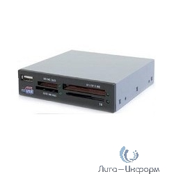 """USB 2.0 Card reader All in 1, int. 3.5"""" (черный) [CRIP200B]"""