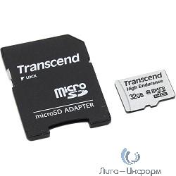 Micro SecureDigital 32Gb Transcend TS32GUSDHC10V {MicroSDHC Class 10 UHS-I, SD adapter}