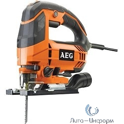 AEG 451161(STEP 80) Ручной электро лобзик [451161(STEP 80)] {700Вт,1000-3200об\м,ход-20мм,рез-80мм,2.2кг,кор,4-маятн,регул скор}