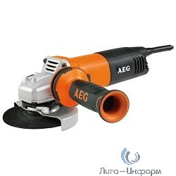 AEG 451409(WS12-125) Угловая шлифовальная машина [451409(WS12-125)] {ф125мм,1200Вт,0-0об\м,0кг,кор,б\ключ кожух,AVS бок рукоятка,ключ гайка,4м кабель}