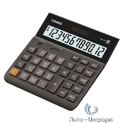 Калькулятор настольный Casio DH-12-BK-S-EH [12, Базовый, пластик, Черный]