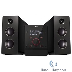 LG CM2760 черный {160Вт/CD/CDRW/FM/USB/BT}