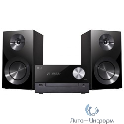 LG CM2460 черный 100Вт/CD/CDRW/FM/USB/BT