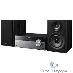 Sony CMT-SBT100 черный 40Вт/CD/CDRW/FM/USB/BT