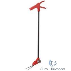 GRINDA Ножницы для стрижки травы, поворотный механизм 180 гр, на удлинителе и подставке с колесиками, 965мм [8-422087_z01]