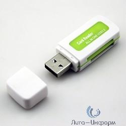 USB 2.0 Card Reader Micro ORIENT CR-011G  SDHC/SDXC/microSD/MMC/MS/MS Duo/M2