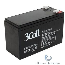 3Cott Аккумулятор 12V7.2Ah {0298828}