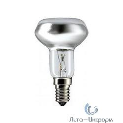 054159 Лампа накаливания Philips spot NR50 40W E14 230V рефлект. 30D